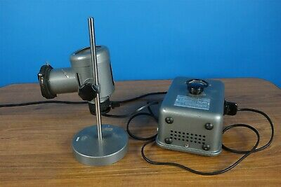 Vintage Leitz Monla Lamp + light source + Power Supply NICE