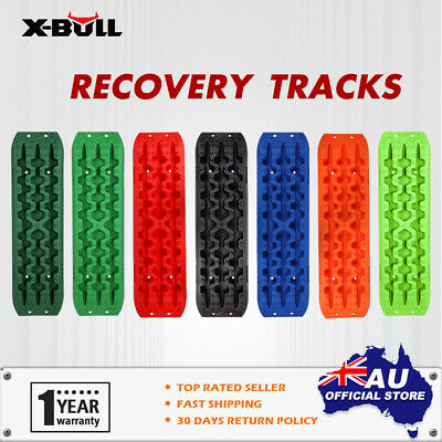X-BULL Recovery tracks Sand tracks Mud Snow Grass 10T 4WD 4X4 1Pair Multicolor