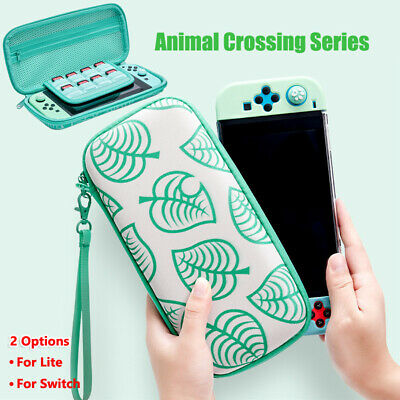 Animal Crossing Carrying Case Protective Bag for Console Card Switch&Switch Lite