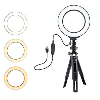 """10"""" Led Ring Light Selfie With Tripod Ring For Selfie Phone Video PhotographWFI"""