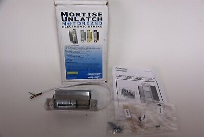 Securitron Mortise UnLatch Motorized Electronic Strike MUNL-24 VDC