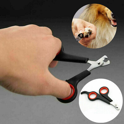Pet Dog Cat Nail Clippers Rabbit Bird Guinea Pig Easy Use Claw Trimmers Scissors