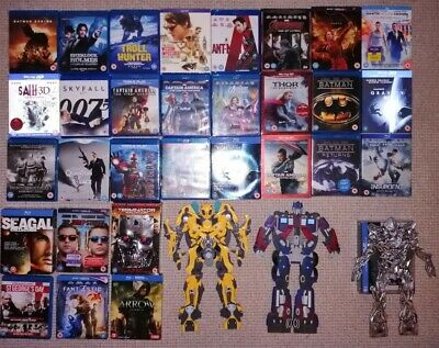 Blu Ray & Limited /Special Editions Job Lot Bundle x 33 Collection Movies