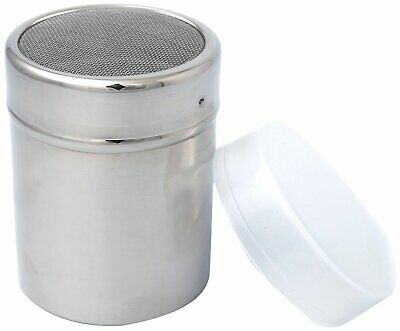 RSVP Endurance Polished 18/8 Stainless Steel Fine Mesh Shaker 11 oz