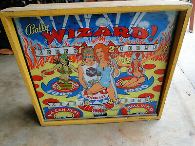 1970'S Bally TOMMY THE WHO WIZARD PINBALL MACHINE W/ EXTRA PLAYING FIELD