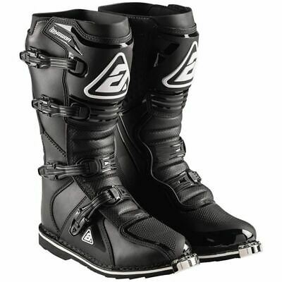 Black Sz 9 Answer Racing AR1 Boots