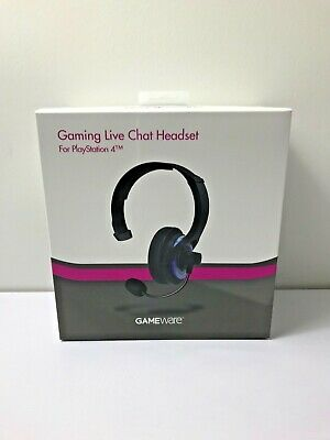 GameWare Gaming Live Chat Headset For Playstation 4 (PS4)