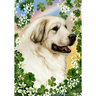 Clover House Flag - Great Pyrenees 31146