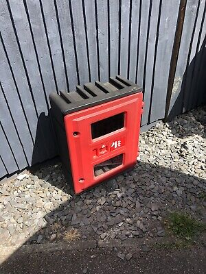 Double Fire Extinguisher Cabinet Box - used