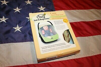 Cozy Sun & Bug Cover Stroller or Car Seat Infant size baby travel free shipping