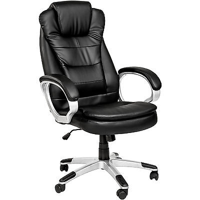 High Quality Executive High Back Office Chair with Double Padding Black new