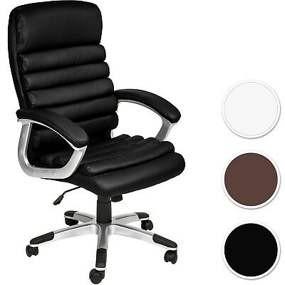 Office chair desk chair gaming executive chairs adjustable faux leather new