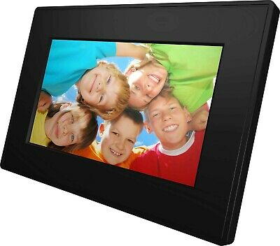 New - Jessops 7 inch Black Digital Picture Frame