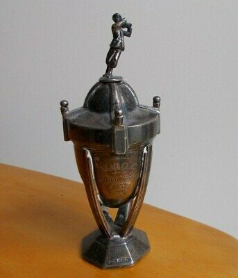 Solid Silver GOLF TROPHY Hallmarked Sheffield 1938 - for repair -144. 9 grams.