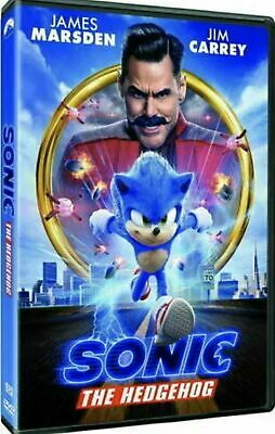 Sonic The Hedgehog (DVD, 2020) NEW Factory Sealed