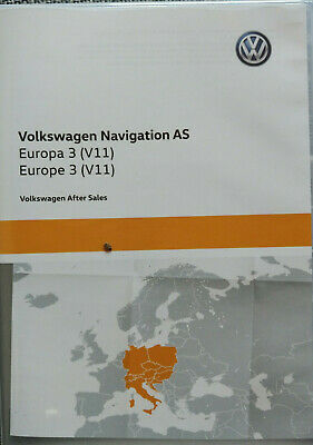 Neu Sd Card Navigation As Europa 3 2020 V11 Vw Discover Media