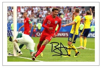 Dele Alli England Signed Photo Print Autograph Soccer
