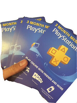 PlayStation Plus 3 Month ⚡DIGITAL CODE⚡ PS4, PS3, Vita FAST DELIVERY