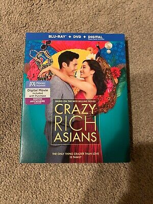 Crazy Rich Asians (SLIPCOVER ONLY for Blu-ray)