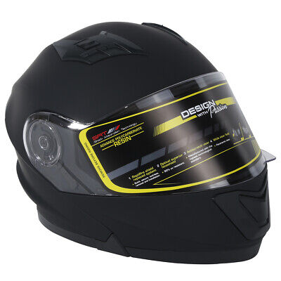 HELMET Adult DOT Dual Visor Full Face Motorcycle Street off-road M L XL Racing
