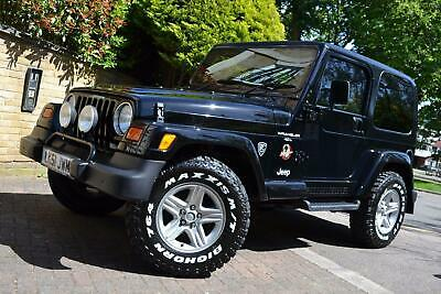 2001 Jeep Wrangler 4.0 Sahara Hard Top 4x4 3dr