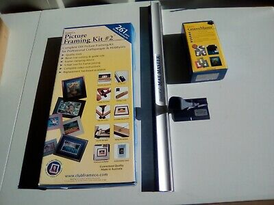 Complete DIY Framing Kit / plus  Matmaster and  Groove master Preowned