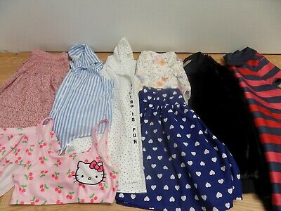 Bundle of Girls Summer Clothes Shorts Tops age 9-10 years  Next H and M Zara VGC