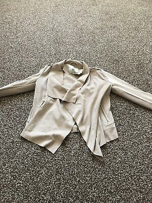 River Island Girls Age 7-8 Years Fantastic Suede Effect Jacket Gorgeous Design