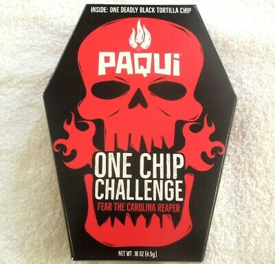PAQUI ONE CHIP CHALLENGE - FEAR THE CAROLINA REAPER 2019 Sold Out