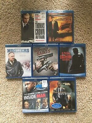 Spy & Espionage Drama Blu-ray Movies (BRAND NEW, SEALED, NEVER BEEN USED)
