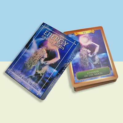 English Oracle Cards Deck Tarot Cards Guidance Divination Fate Board Game C WF