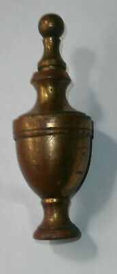 Vintage Heavy Metal Brass Finial