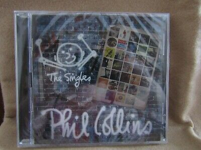 ***The Singles-  Phil Collins Cd***Brand New Sealed***