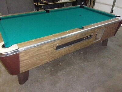 Valley 8 ft.  coin op pool table  #PT255