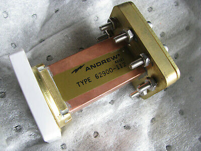 NOS ANDREW WAVEGUIDE LOAD TERMINATION WR112 62900-112 7.05-10 GHz