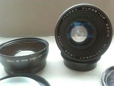 Wide angle and macro accessory lens for video, digital & film photography. Lomo