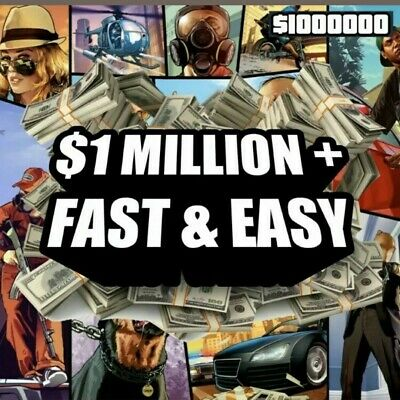 $ GTA 5 money 1 million XBOX ONE - CHEAP AND RELIABLE $ Next Available 01/06