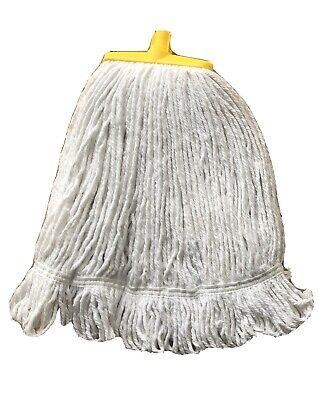 Syr Interchange 16Oz Kentucky Syntex Stayflat Looped Mop Head Yellow Top Quality