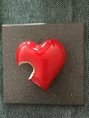 Roark Gourley Small Bite Of The Apple Heart - Mint