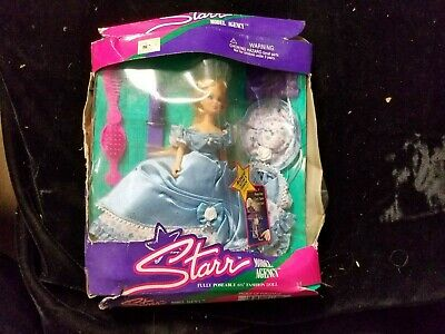 """Dawn Beautiful Belle Collection NRFB Starr Model Agency 6 1/2"""" Doll Damaged Box"""