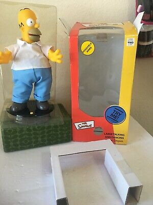 Collectible The Simpsons Homer Large Talking And Dancing 2002 Gemmy Industries