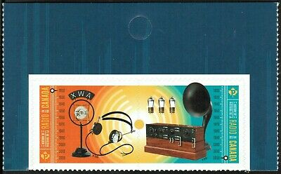 Canada sc#?? Radio in Canada, Pair from Booklet Issued May 20, 2020, Mint-NH