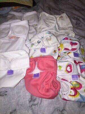 Size 1 Lollipop And Tots Bots Nappy Wrap Covers