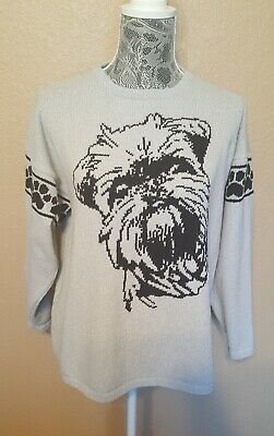 Custom Knit Brussels Griffon Dog Sweater for people