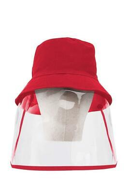 Plastic Face Shield Isolation Hat