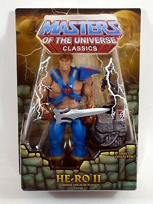 *DAMAGED PACKAGE* Masters of the Universe Classics HE-RO II Son of He-Man MOTU