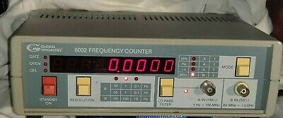 Global Specialties 6002 Frequency Counter