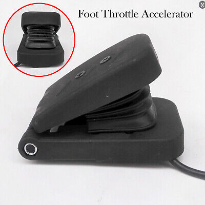 Electric Car Vehicle Foot Throttle Accelerator Pedal for E-Bike / Boat / Scooter
