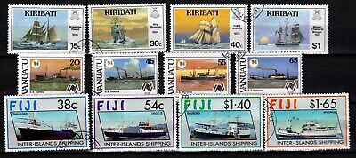 COMMONWEALTH 3 X SETS SHIPS (ref 60) USED
