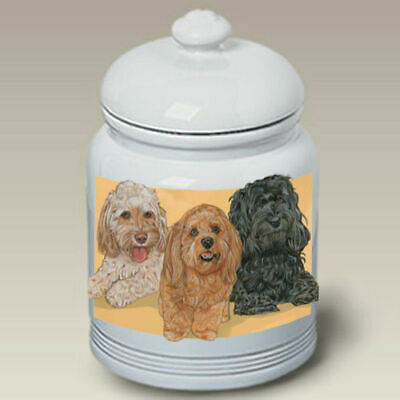 Cockapoo Ceramic Treat Jar PS 52260